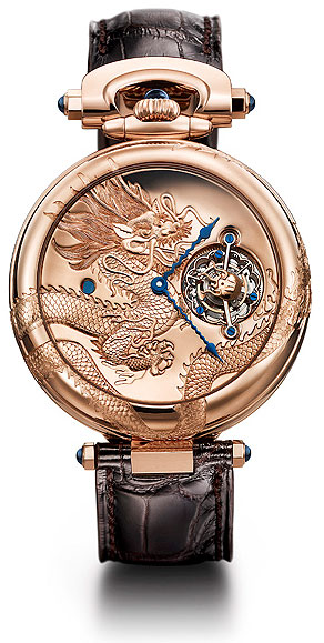 "BOVET for Only Watch BOVET ""Amadeo® Convertible 7-Day Tourbillon Dragon & Phoenix""."