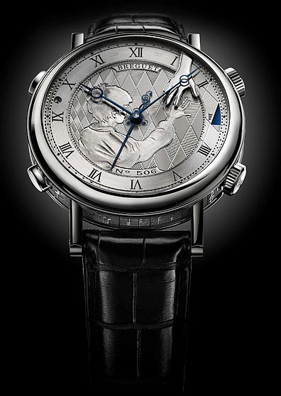 Breguet Classique Grande Complication Reveil Musical watch in 18k white gold