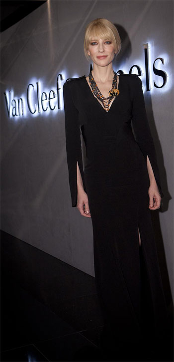 Cate Blanchett at the Van Cleef & Arpels Hong Kong Maison opening