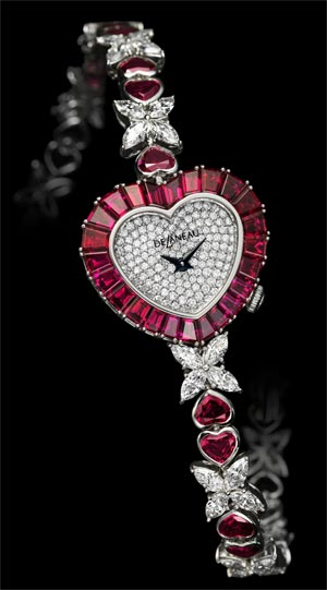 Les Délicates jewelry watch collection from DeLaneau. Romantic, sparkling and precious. 7