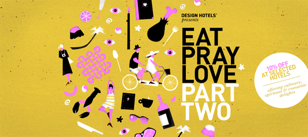 More eating praying and loving special rates at eleven Design Hotels
