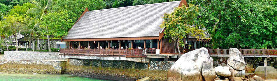 Fisherman's Cover Fine Dining Restaurant at Pangkor Laut Resort