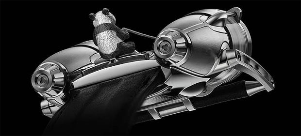 The MB&F HM4 Flying Panda reaches €170,000 ($232,000) at Only Watch
