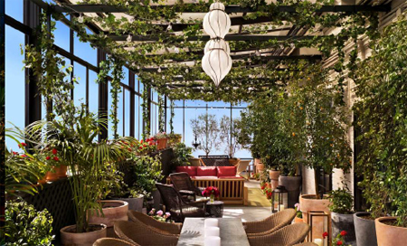 Gramercy Park Hotel With Its Famous Rooftop Terrace Joins Design Hotels