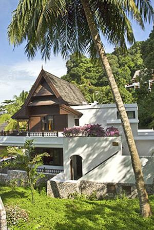 A garden villa at Pangkor Laut Resort