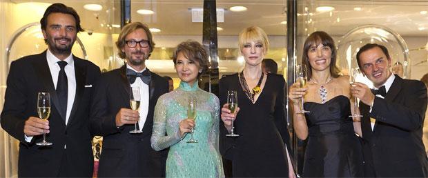 Benjamin Vuchot, Nicolas Bos, Josephine Siao Fong Fong, Cate Blanchett, catherine Renier and Stanislas de Quercize