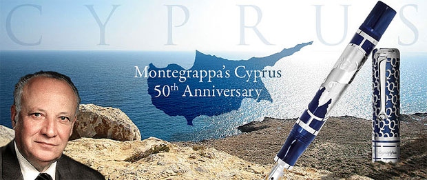 Montegrappa's Cyprus 50th Anniversary Limited Edition Fountain Pen