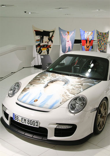 Porsche unveils the Colección Goméz exhibition combining art and motoring 4