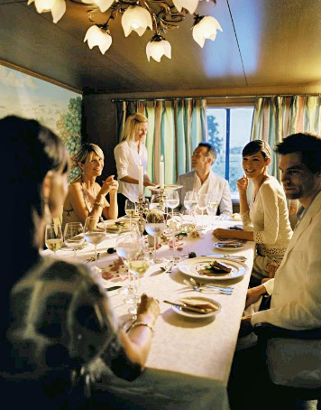 Orient-Express launches new six night cruises for budding artists and Oeneophiles aboard its Afloat in France luxury barge fleet.