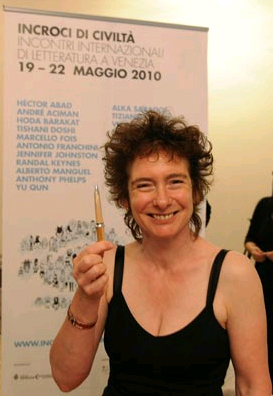 Jeanette Winterson at the Incroci di civiltà, the international literature festival of Venice