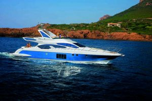 The new Azimut 64, the latest 20 meter yacht from the Flybridge Collection