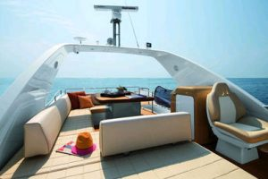 The new Azimut 64, the latest 20 meter yacht from the Flybridge Collection 7