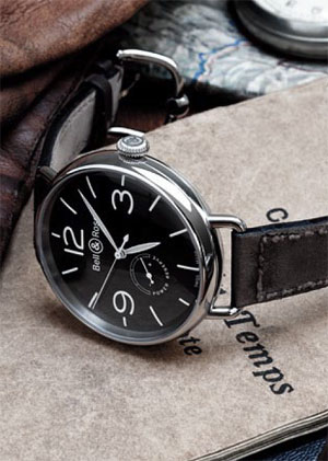 The Bell & Ross Vintage PW1 and WW1 Fob Watch and Wristwatch 4