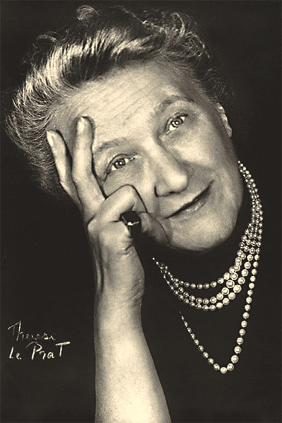 BETTY FIECHTER, PRESIDENT BLANCPAIN 1932-1950.