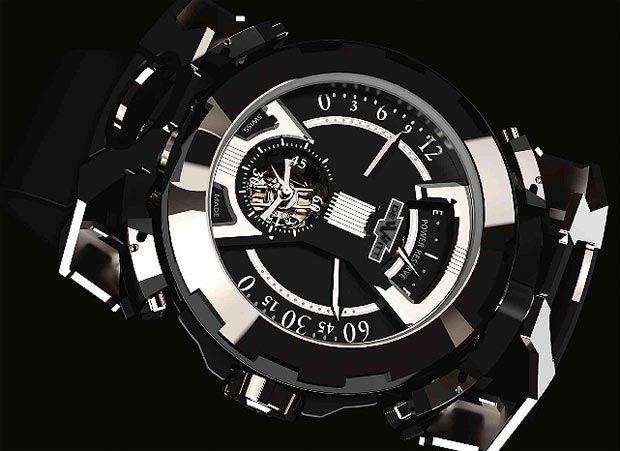 DeWitt Concept Watch No. 3 X Watch titanium and steel one-minute tourbillon