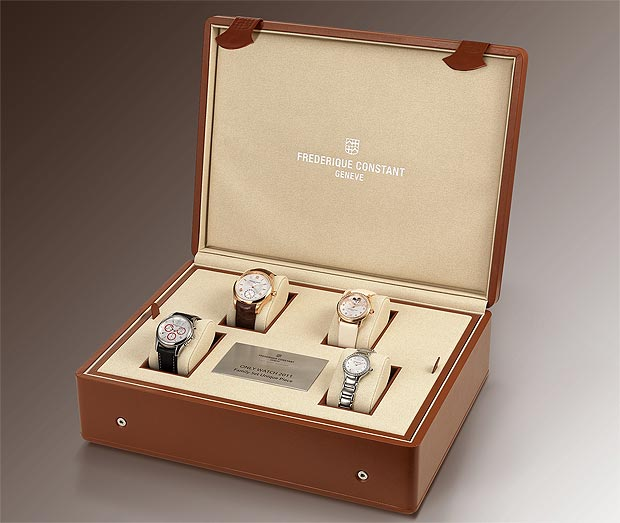 Frederique Constant 18K pink gold Maxime Manufacture Automatic wrist watch