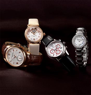 Frederique Constant 18K pink gold Maxime Manufacture Automatic wrist watch 4