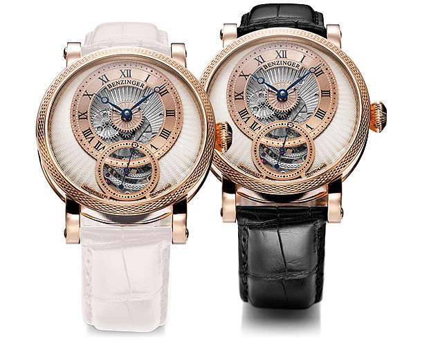 The Grieb & benzinger Polaris Black & White special edition gold watch