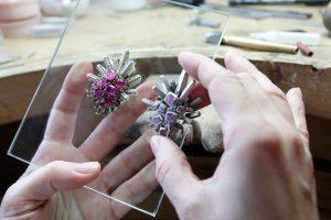 Van Cleef & Arpels School of Jewellery, open to all.