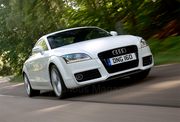 The Audi 1.8 TFSI Coupe offers an even more cost effective route to iconic car