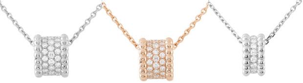 Van Cleef & Arpels Perlée pendants, rings, earrings and bracelet collection