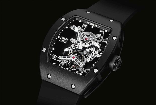 Richard Mille RM 027 Tourbilon RAFAEL NADAL titanium and Lital watch