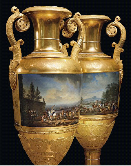 Christies to offer the most important pair of Russian vases to appear on the market this Autumn