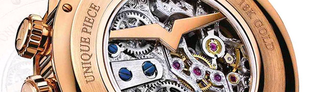 Vulcain, Le Locle, Skeleton Cricket 18K pink gold wristwatch