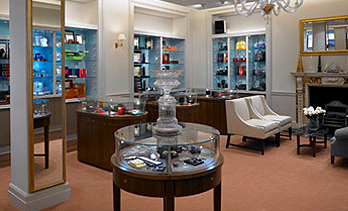The showroom at William and Son London