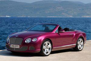 Bentley Motors unfolds its new 2012 Bentley Continental GTC