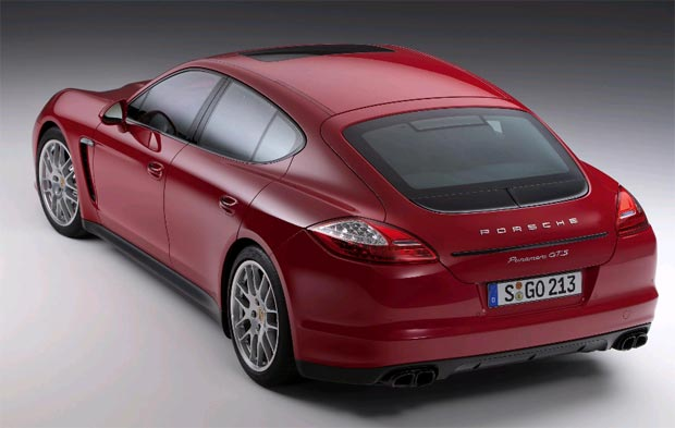 2012 Porsche Panamera GTS exterior design inspired by the Turbo