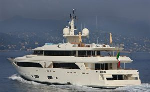 The incredible design and craftsmanship on the 43 metre long CRN Rubeccan Yacht