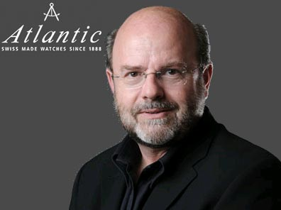 Juerg K. Bohne, managing director of the watch brand Atlantic Watch SA