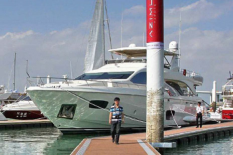 Azimut Yachts wins award at the 4th Xiamen International Boat Show
