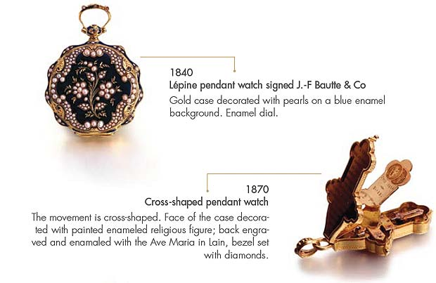 Girard-Perregaux Antique pocket watches; the promise of perfect craftmanship