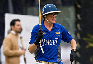 Luke Tomlinson, Captain of England's national polo squad, joins Piaget's Triple Crown team 3