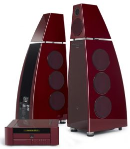 Bob Stuart and Allen Boothroyd, the founders of Meridian Audio, the renowned British manufacturer of state-of-the-art audio and video entertainment systems, have collaborated to produce a Limited Edition 40th Anniversary Sound System