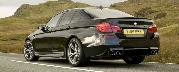 The new BMW M5 Saloon Chassis