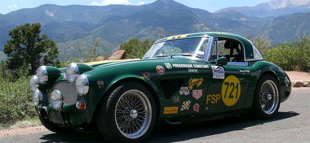 Frederique Constant celebrates at the finish of La Carrera Panamerica 2011