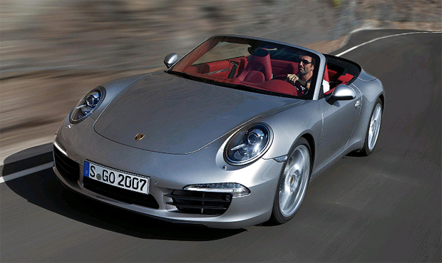 On sale in March 2012, the new Porsche 911 Carrera Cabriolet offers sporting drivers the option to enjoy the renowned dynamic qualities and iconic design of the 911 Coupe combined with the added versatility and driving pleasure offered by its folding convertible roof.