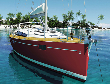 The Beneteau Sense 55 Yacht - Live the magic of the sea with a panoramic view 3