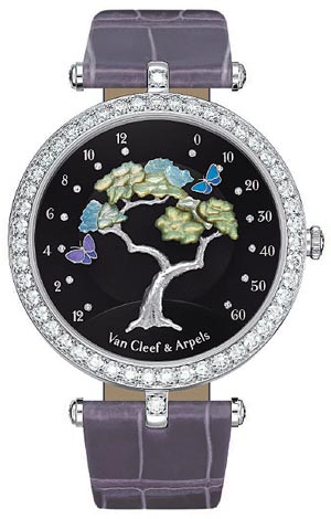 Van Cleef & Arpels Butterfly Symphony watch wins at Grand Prix du Public 2011 of Geneva.