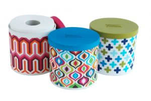 KIMBERLY-CLARK COTTONELLE SPRING LINE Cottonelle Brand Unveils Spring Line of Toilet Paper Roll Covers, Designed Exclusively by Jonathan Adler.