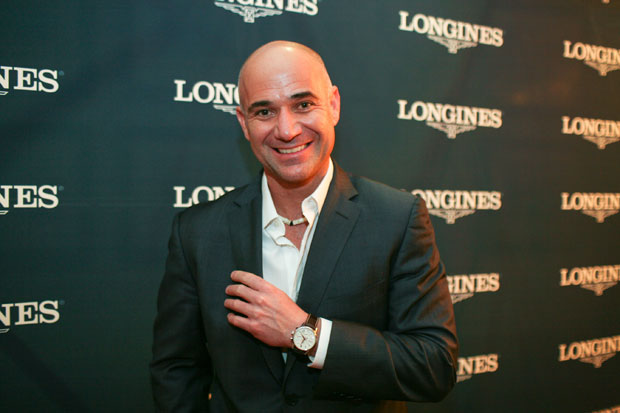 Andre Agassi, Longines Watches and Shreve & Co team up to help USTA Junior Players