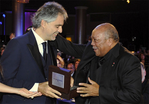 Girard-Perregaux in Los Angeles partner up to launch the Andrea Bocelli Foundation