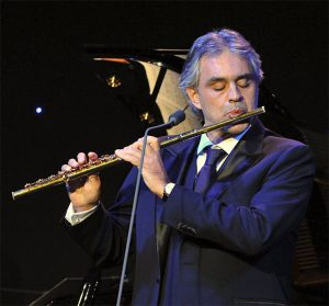 Andrea Bocelli Foundation was Launched with 2011 a Benefit Gala featuring Special Performances by Andrea Bocelli, David Foster, Heather Headley, Anna Maria Martinez and Michael Bolton