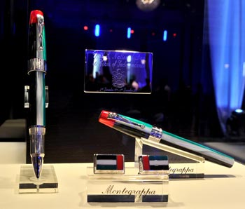 One of the Limited Edition National Day pens, appropriately, number 1111 (out of 1971), was sold at auction over the course of the evening with funds raised being given to the Christina Noble Children's Foundation