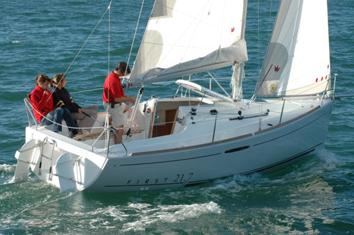 The Beneteau 21.7 Yacht - As simple as a great idea