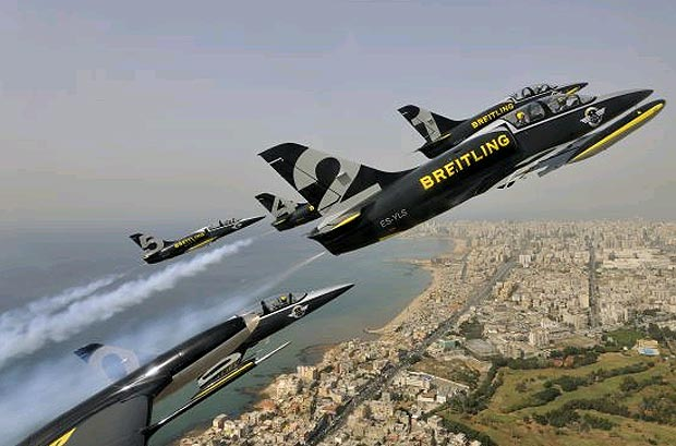 The Breitling Jet Team are back in Dijon after completing their East Mediterranean Tour 2011