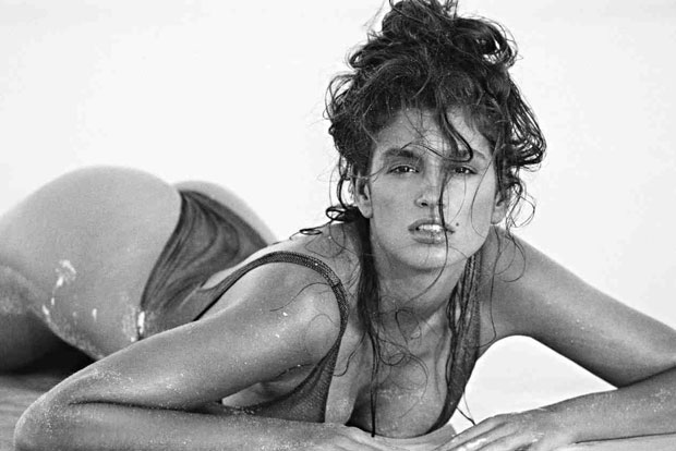 Supermodel Cindy Crawford by Marco Glaviano